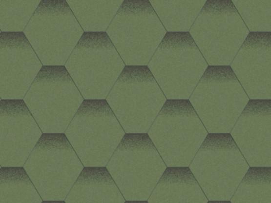 Фото 1: битумная черепица aquaizol мозаика - альпийский луг