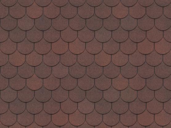 Фото 1: битумная черепица döcke standart кольчуга - красный