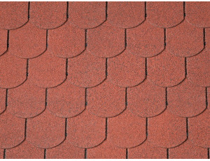 Фото: Iko Victorian PLUS  Tile Red