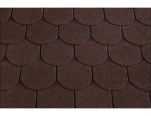 Фото: Roofshield Family Light Готик - Коричневый с оттенением