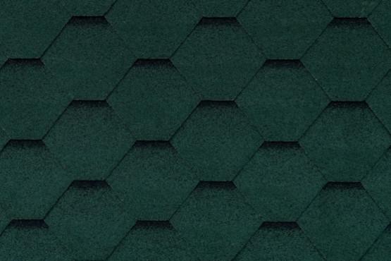 Фото 1: битумная черепица roofshield family light стандарт - зеленый с оттенением