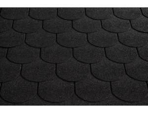 Фото: Roofshield Family ECO Light Готик - Графитно-черный