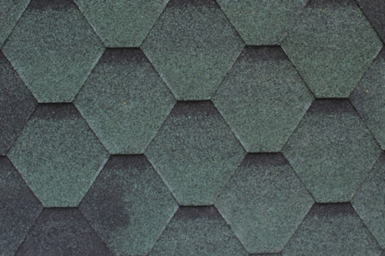 Фото 1: битумная черепица roofshield family eco light стандарт - зеленый с оттенением