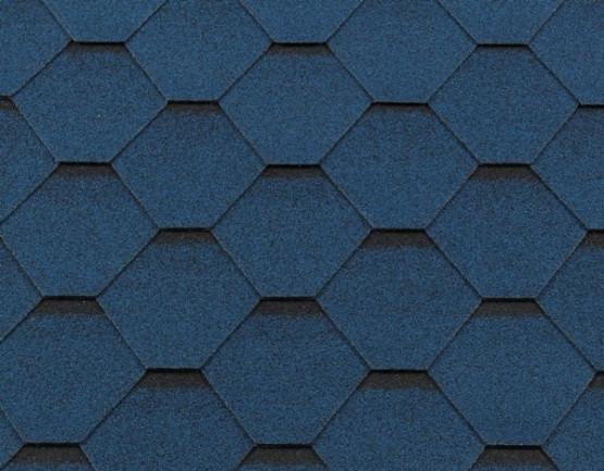 Фото 1: бітумна черепиця roofshield класік стандарт - синій