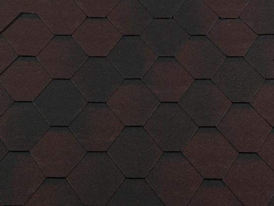 Фото 1: битумная черепица roofshield классик стандарт - коричневый антик