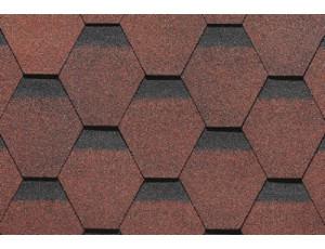 Фото: Shinglas Roofmast Соната - Красный