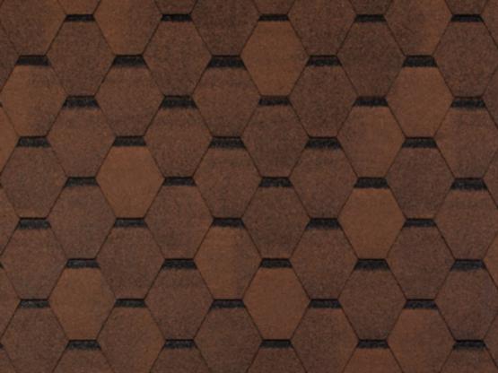 Фото 1: tegola top shingle smalto - коричневый