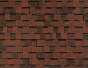 Фото: Tegola Master Premier - Красно-коричневый