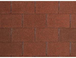 Фото: Tegola Nobile Tile Лофт - Красно-коричневый