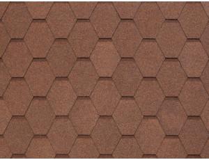 Фото: Tegola Nobile Tile Вест - Светло-коричневый
