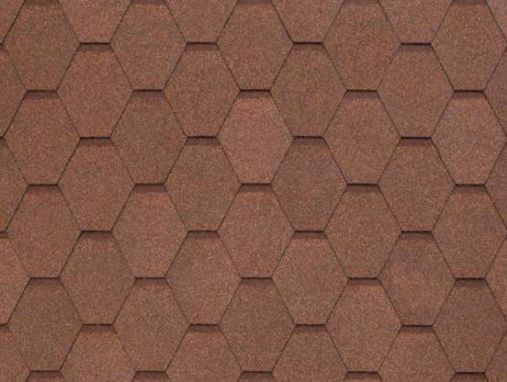 Фото 1: битумная черепица tegola nobile tile вест - светло-коричневый