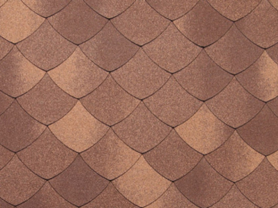 Фото 1: tegola premium versaille - коричневый