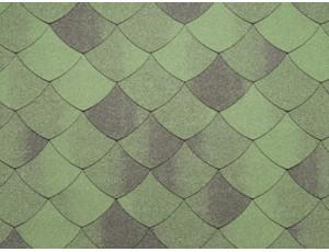 Фото: Tegola Premium Versaille - Зеленый