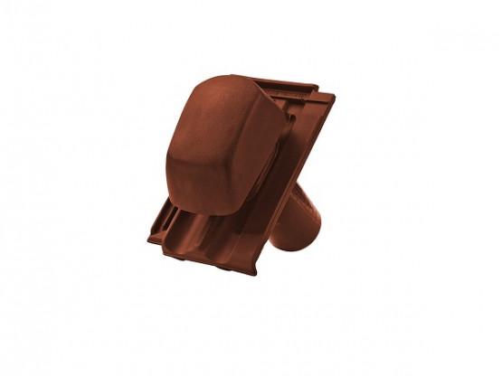 Фото 1: керамічна черепиця прохідна braas гранат 13v ангоб