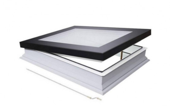 Фото 1: окно для плоской кровли fakro dmf du6 secure 60х60