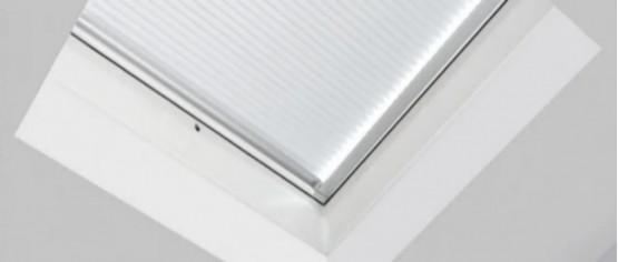 Фото 1: внутренняя штора fakro apf/d i 60х60