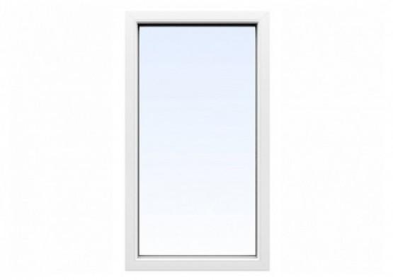 Фото 1: вікно пвх aluplast 2000 одностулкове глухе1400х700