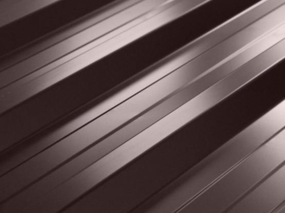 Фото 1: профнастил нс-35 u.s. steel  (словаччина) 0,45 pe ral 8017 двусторонній