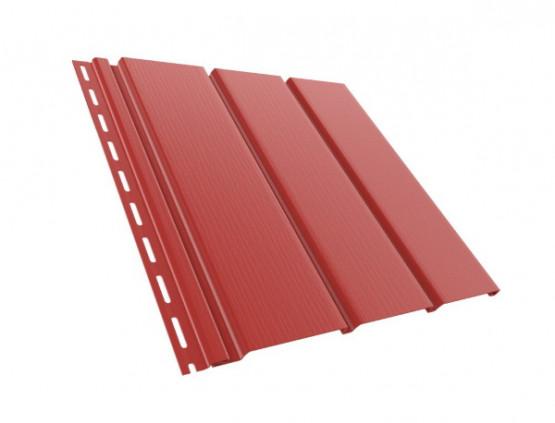 Фото 1: софиты пвх софит bryza сплошной красный