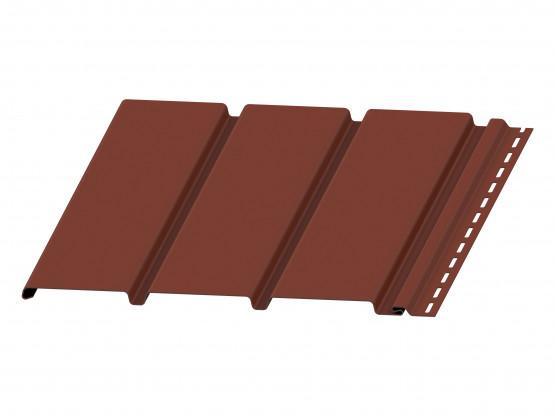 Фото 1: софит budmat сплошной светло-коричневый