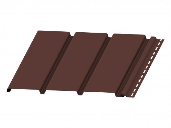 Фото 1: софіт budmat суцільний темно-коричневий