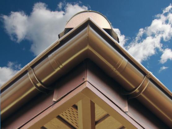 Фото 4: софит budmat сплошной светло-коричневый