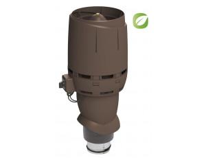 Фото: Вентилятор Flow Eco 125P/500 коричневый
