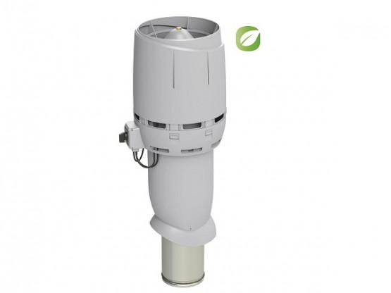 Фото: вентилятор flow eco 160p/700 світло-сірий
