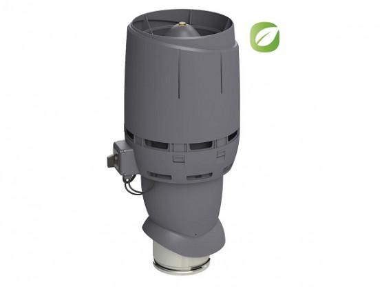 Фото: вентилятор flow eco 200p/500 сірий