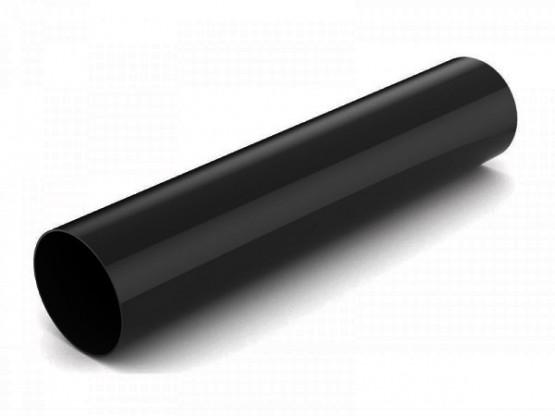 Фото: водостічна труба 3м bryza 125/90 чорний