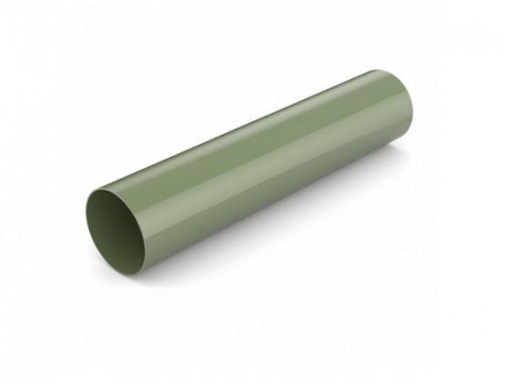 Фото: водостічна труба 3м bryza 75/63 зелений