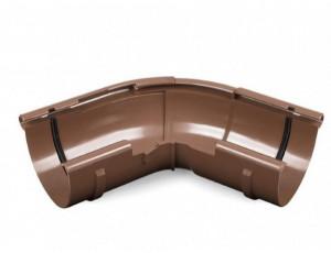 Фото: Угол желоба регулируемый Bryza 150/110 коричневый