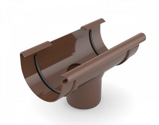 Фото: воронка сливная bryza 125/90 коричневый