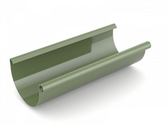 Фото: желоб 3 м bryza 75/63 зеленый