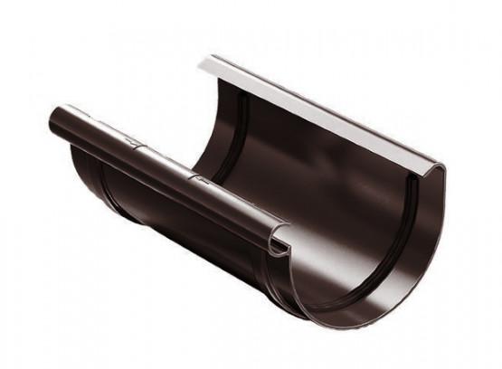 Фото 1: з'єднувач жолоба proaqua 150/110 коричневий