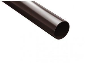 Фото: Водосточная труба 3 м ProAqua 100/90 коричневый