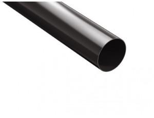 Фото: Водосточная труба 3 м ProAqua 100/90 темно-коричневый