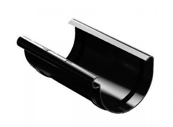 Фото 1: з'єднувач жолоба proaqua 150/110 чорний