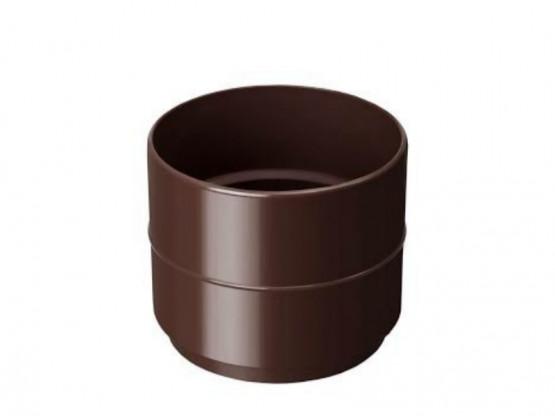 Фото 1: муфта трубы rainway 130/100 коричневый