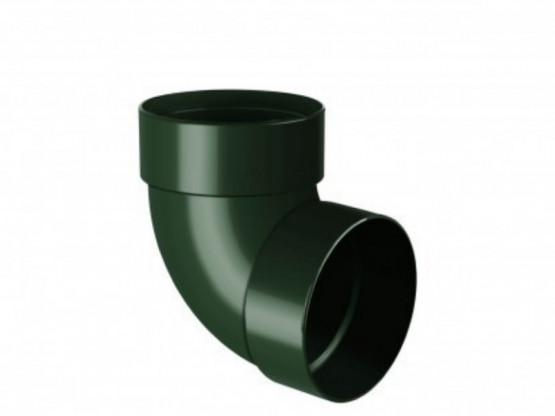 Фото 1: отвод двухмуфтовый 87° rainway 90/75 зеленый