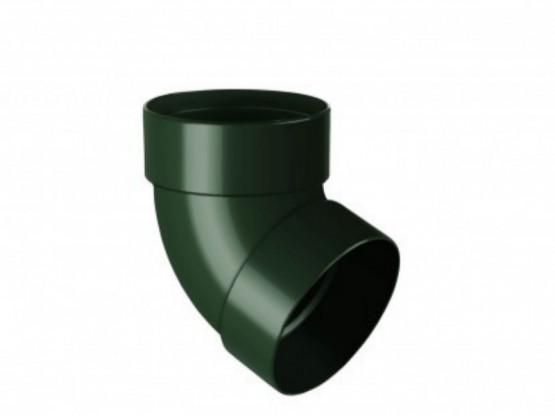 Фото: отвод одномуфтовый 67° rainway 90/75 зеленый