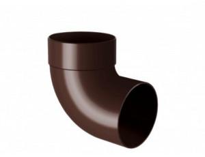 Фото: Отвод одномуфтовый 87° Rainway 130/100 коричневый