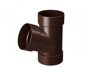 Фото: Тройник Rainway 90/75 коричневый