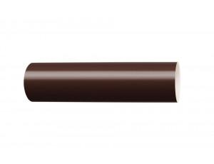 Фото: Водосточная труба 3 м Rainway 90/75 коричневый