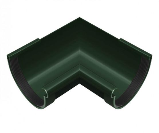 Фото: угол желоба внутренний 90° rainway 90/75 зеленый