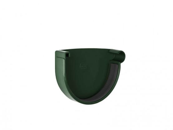 Фото 1: заглушка желоба правая rainway 90/75 зеленый