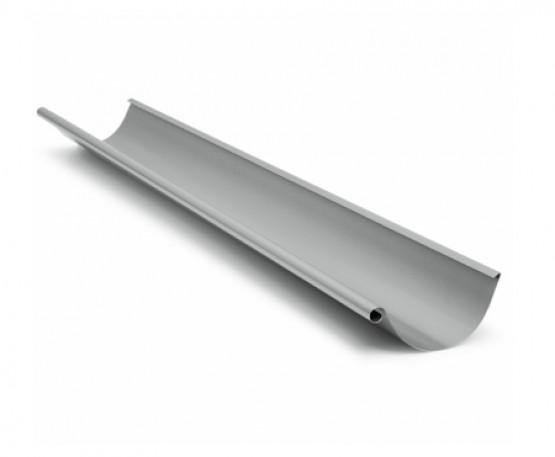 Фото 1: ринва 4 м struga 135/100 сріблястий металік