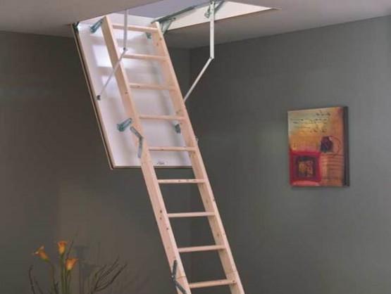 Фото 1: чердачная лестница minka tradition