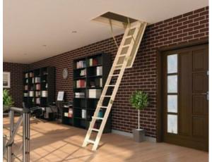 Фото: Чердачная лестница Fakro LWS Smart